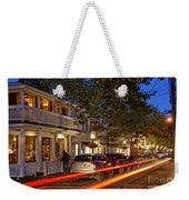 Edgartown Nightlife Weekender Tote Bag
