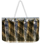Edge Of A Fountain Weekender Tote Bag