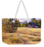 Edge Of Autumn Weekender Tote Bag