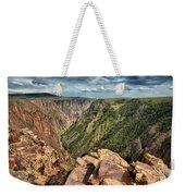 Edge Of The Black Canyon Weekender Tote Bag