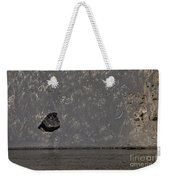 Edge Of The Yellowstone River   #4527 Weekender Tote Bag