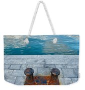 Edge Of Water Weekender Tote Bag