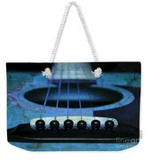 Edgy Abstract Eclectic Guitar 17 Weekender Tote Bag