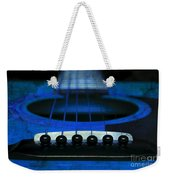 Edgy Abstract Eclectic Guitar 18 Weekender Tote Bag by Andee Design