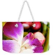 Edible Flowers Weekender Tote Bag