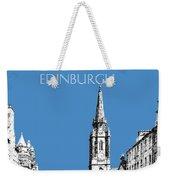 Edinburgh Skyline The Royal Mile - Slate Weekender Tote Bag