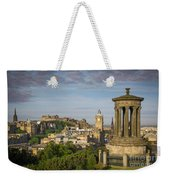 Edinburgh Sunrise Weekender Tote Bag