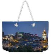 Edinburgh Twilight Weekender Tote Bag