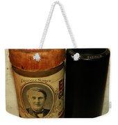 Edison Phonograph Cylinder 9750 Comic Song  Garibaldi  Weekender Tote Bag