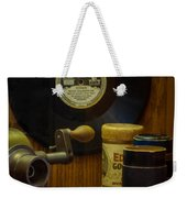 Edison Record And Equipment Weekender Tote Bag