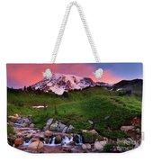 Edith Creek Sunrise Weekender Tote Bag