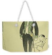 Edmond Rostand (1868-1918) Weekender Tote Bag