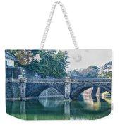 Edo Castle And Nijubashi Bridge Weekender Tote Bag