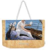 Edouard Manet 4 Weekender Tote Bag
