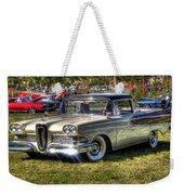 Edsel Ranchero Weekender Tote Bag