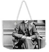 Edward Bulwer Lytton (1803-1873) Weekender Tote Bag