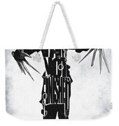 Edward Scissorhands - Johnny Depp Weekender Tote Bag