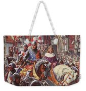 Edward V Rides Into London With Duke Weekender Tote Bag