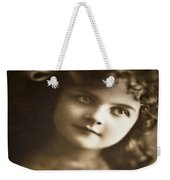 Edwardian Young Girl Weekender Tote Bag