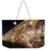 Berlin Wall Hearts Weekender Tote Bag