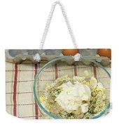 Egg Salad Ingredients Weekender Tote Bag