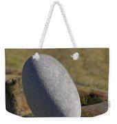 Egg-shaped Stone Weekender Tote Bag