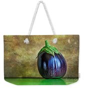 Eggplant Weekender Tote Bag