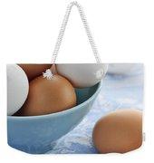 Eggs In Bowl Weekender Tote Bag