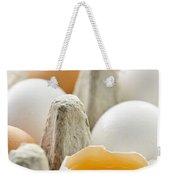 Eggs In Box Weekender Tote Bag by Elena Elisseeva