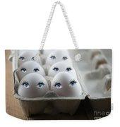 Eggs Weekender Tote Bag by Juli Scalzi
