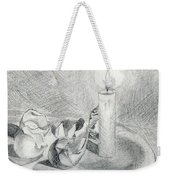 Eggshells In Candlelight Weekender Tote Bag