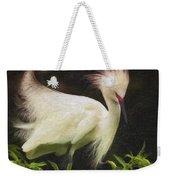 Egret 12 Weekender Tote Bag