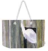Egret At John's Pass Weekender Tote Bag