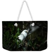 Egret Of Sanibel 5 Weekender Tote Bag