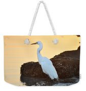 Egret On Dunedin Causeway Weekender Tote Bag