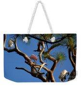 Egret Spoonbill And Stork Weekender Tote Bag