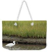 Egret's Catch Weekender Tote Bag