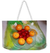 Egss Fruits And Flowers Weekender Tote Bag