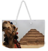Egypt Step Pyramid Saqqara Weekender Tote Bag