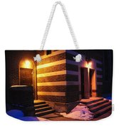 Egyptian Entrance Weekender Tote Bag