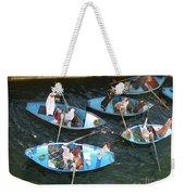 Egyptian Entrepreneurs At The Canal Locks Weekender Tote Bag