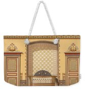 Egyptian Interior , From Interior Weekender Tote Bag