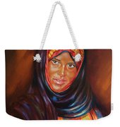 Egyptian Nubian Girl Weekender Tote Bag