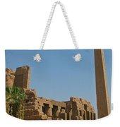 Egyptian Obelisk Weekender Tote Bag