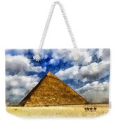 Egyptian Pyramid Weekender Tote Bag