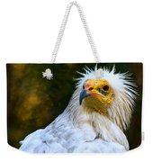 Egyptian Vulture Weekender Tote Bag