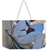 Egytian Security Relaxes Before The Spring Weekender Tote Bag