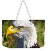 Bald Eagle Head Shot One Weekender Tote Bag