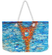 Eiffel Tower Abstract Impression Weekender Tote Bag