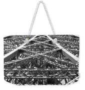Eiffel Tower Weekender Tote Bag by Andrea Anderegg